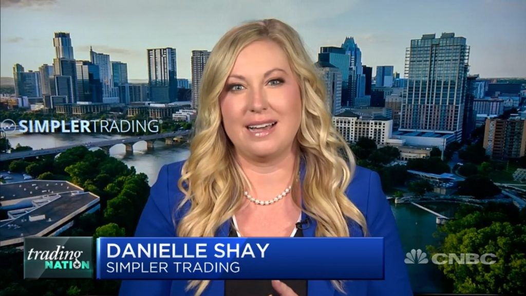 Danielle Shay on CNBC Trading Nation